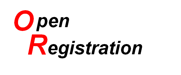 Open Register test logo